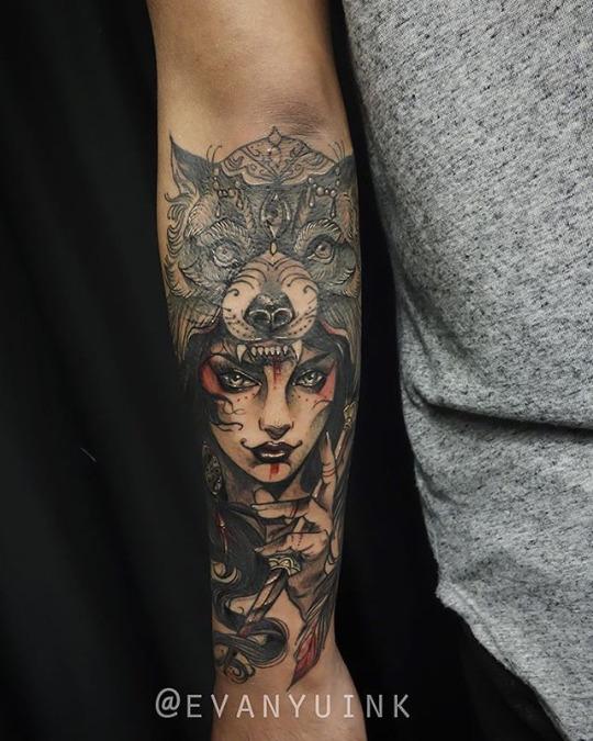 Evanyuink Chronic Ink tattoo shop Toronto
