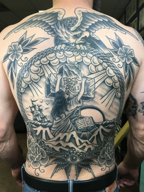 Rock Of Ages Tattoo All Things Tattoo