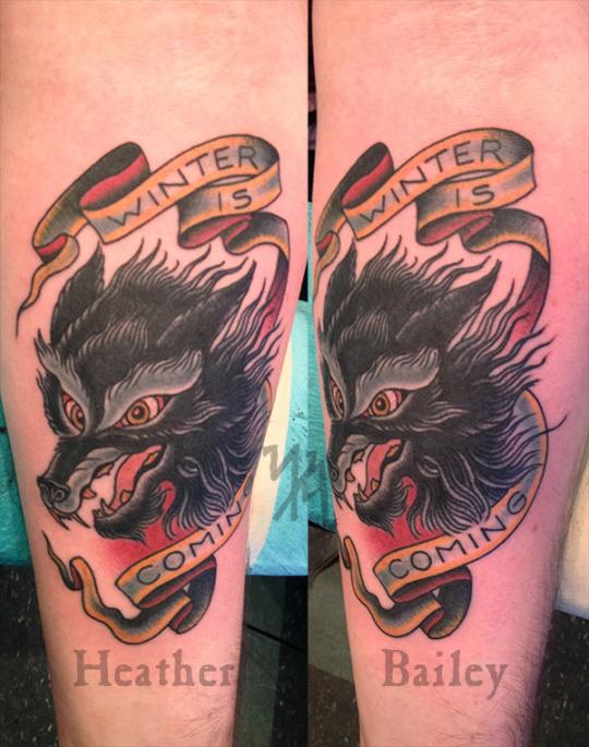 tumblr Heather Bailey Black Heart Tattoo San Francisco