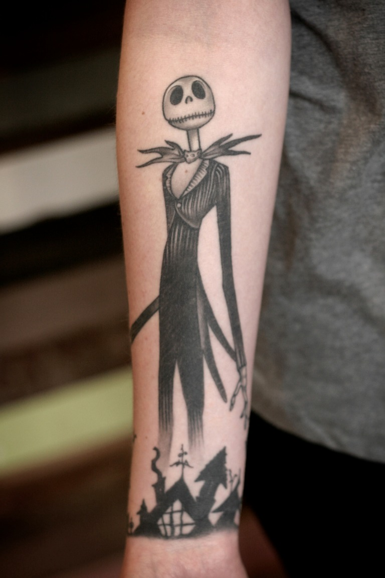The Nightmare Before Christmas Tattoos All Things Tattoo
