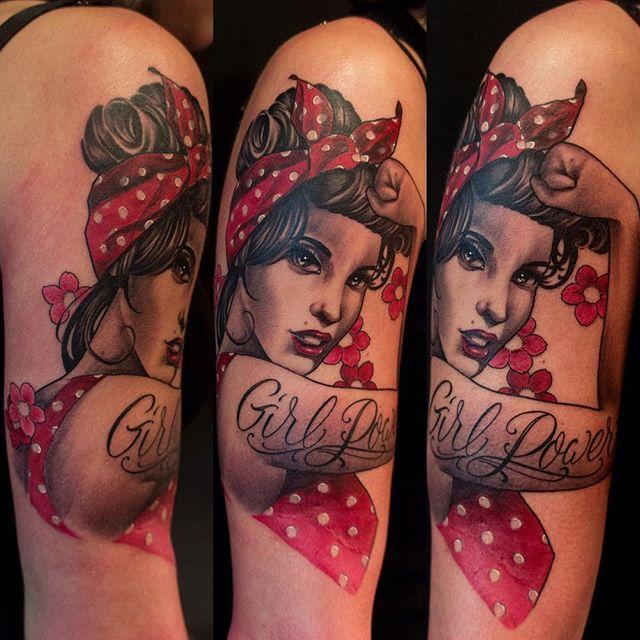 tattoos Pin up girl