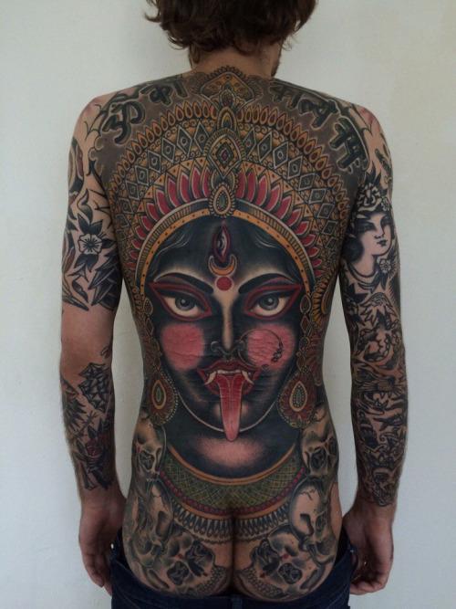Goddess Spine Tattoo: Goddess Kali Tattoos: