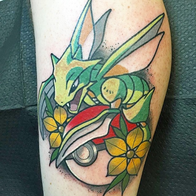 pokemon Nicholas Keiser at Integrity Tattoo in Royersford, PA