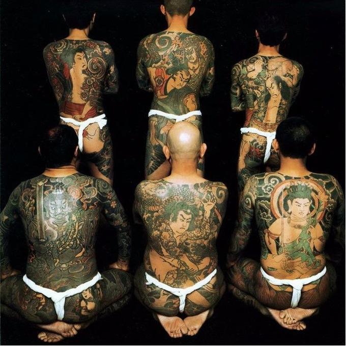 yakuza backs