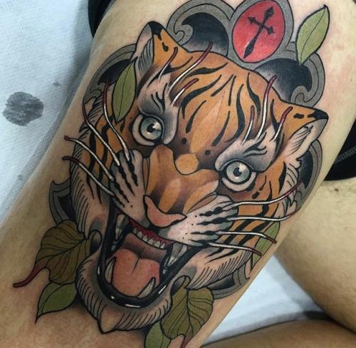 tiger Brian Flores