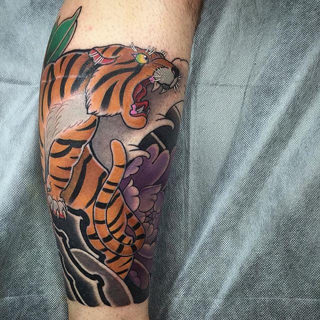 tiger Eli Ferguson Ichi Tattoo