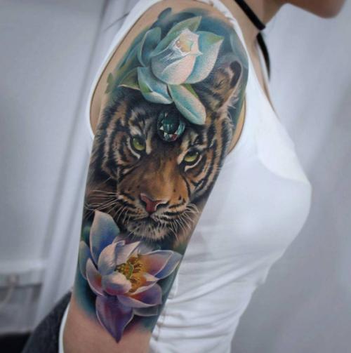 tiger Sandra Dauksh