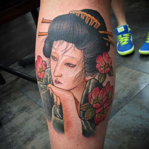 geisha Ami James