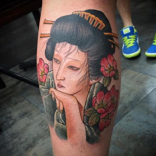 geisha Ami James