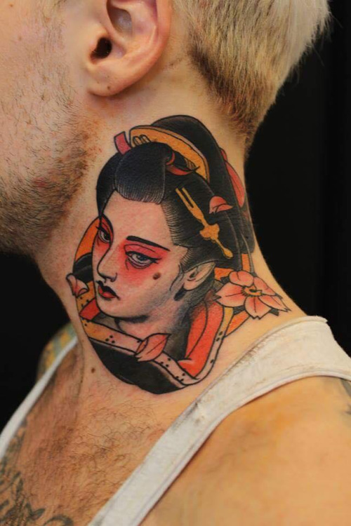 geisha Daniel Gensch