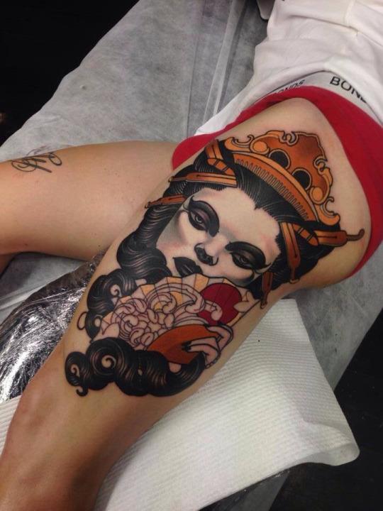 geisha Emily Rose Murray