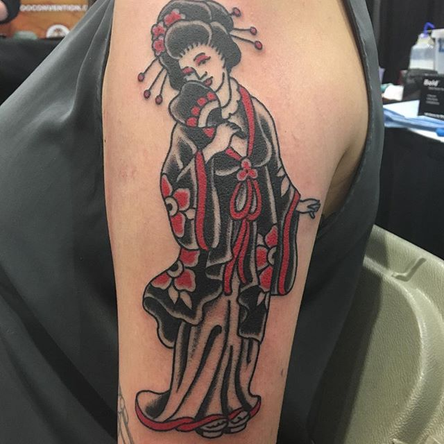 Geisha Reuben Todd at Kapala tattoo in Winnipeg
