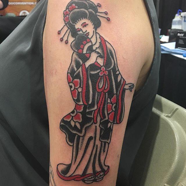 Geisha Reuben Todd at Kapala tattoo in Winnipeg