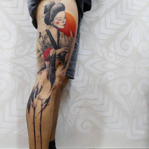 geisha Victor Octaviano