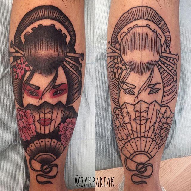 Geisha Zak Partak in Toronto