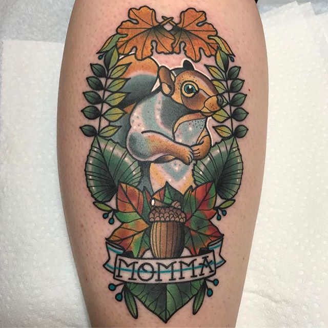 mom Ryan Cambell at Memento Tattoo & Gallery in Ohio