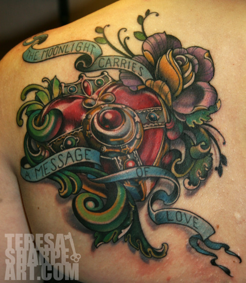 sailor Teresa Sharpe at Unkindness Art in Richmond, VA