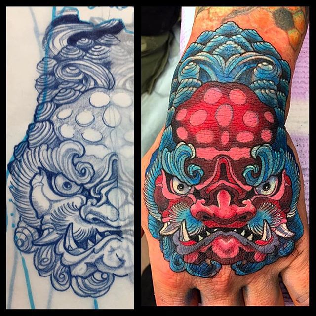 foo Brian Donovan at Davidian Tattoo Studio