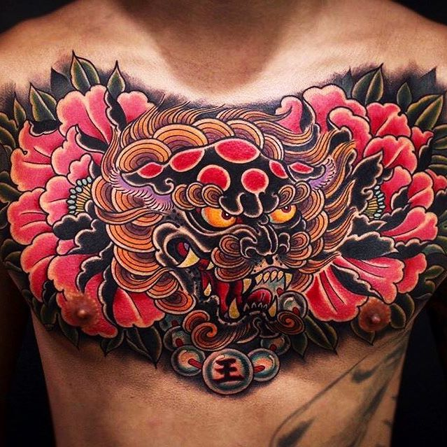 foo Jin Q Choi at Seoul INk Tattoo Studio