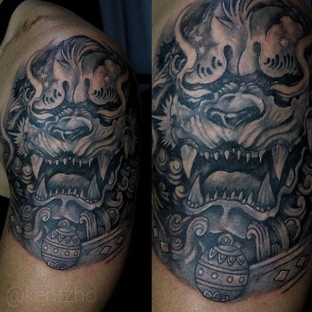 Foo Kentzho Starbrade at Black Bamba Ink and Orc Tattoos