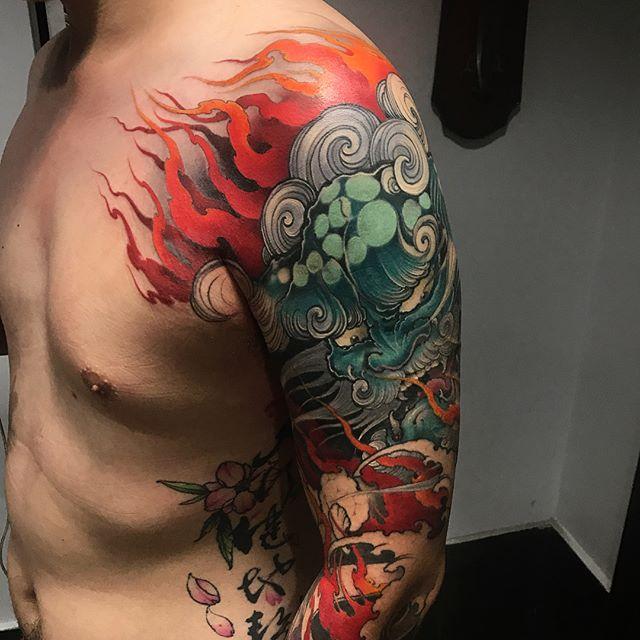 Foofu Dog Tattoos All Things Tattoo