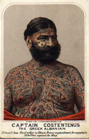 tattoo captain Costentenus
