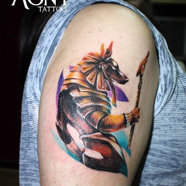 Anubis Agny Fran at Black Velvet Studio Salon in De Santiago, Chile