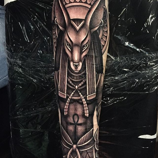 Anubis Melissa Flattinger Corpsepainter Tattoo and Piercing in Munich, Germany