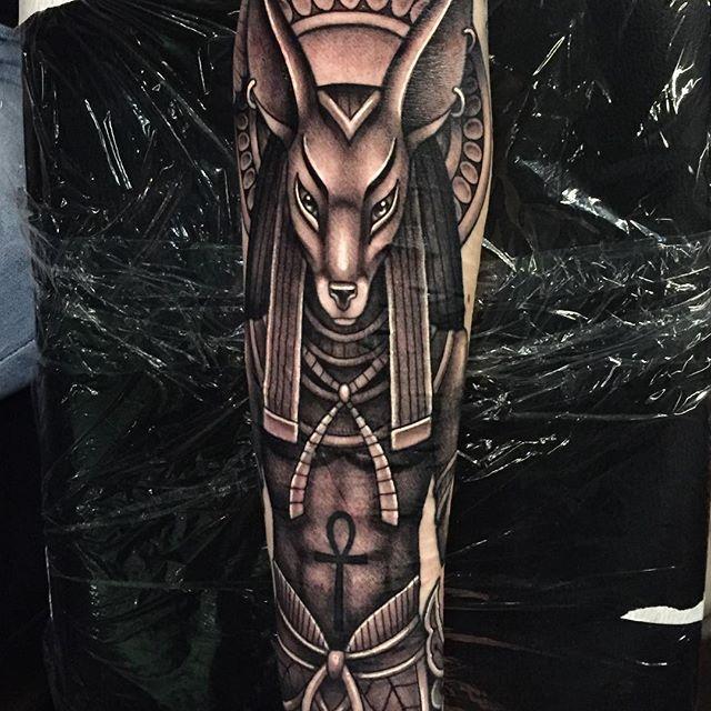 Anubis Melissa Flattinger Corpsepainter Tattoo and Piercing in Munich, Germany