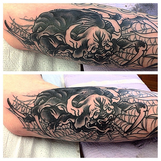 S Ben Wight at Pyramid Arts Tattoo