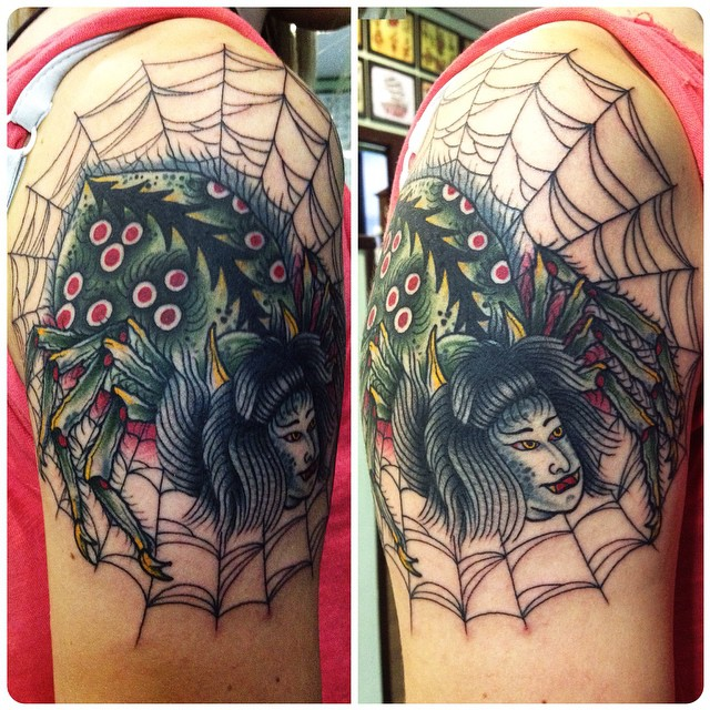 S Francesco Giamblanco at Black Horse Tattoo