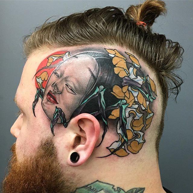 S Nhia Yang at Gook Kind Tattoo in Chicago