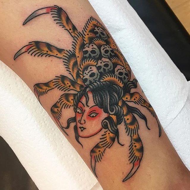 S Nick Crampton at Chapel Tattoo