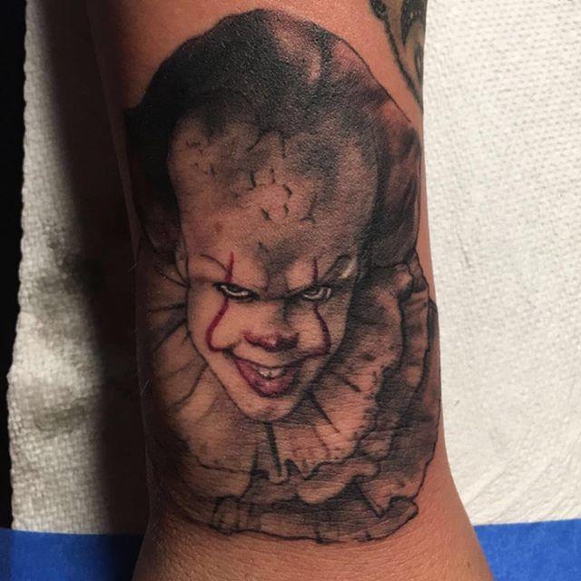 IT Cruz Valdez at Evil Emporium of Tattoos in Santa Fe New Mexico