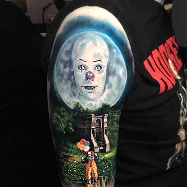 IT Paul Acker at the Séance Tattoo Parlour in Bensalem PA