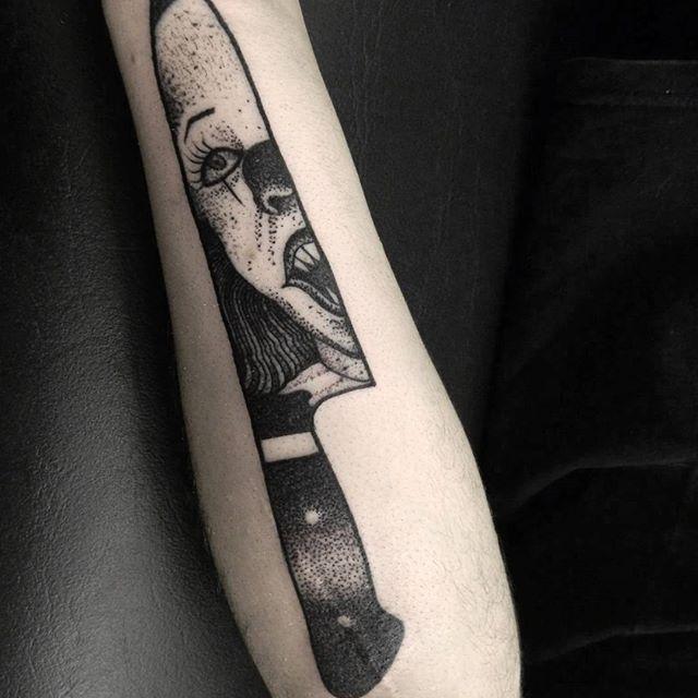 IT Sabri Art at Black Heart Tattoo in Argentina