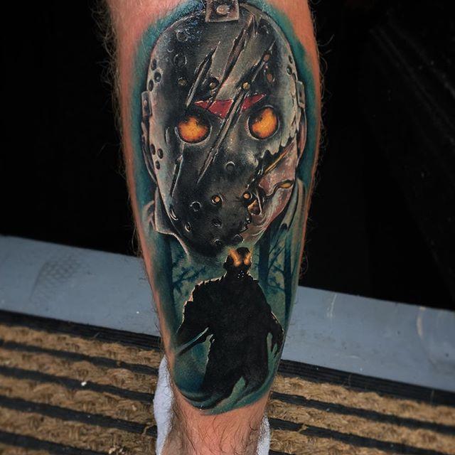 Joe K Worrall at Heart & Arrow Tattoo Studio, U.K