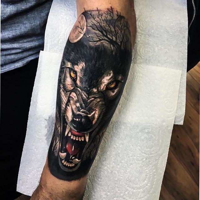 Jordan Baker at penny black tattoo