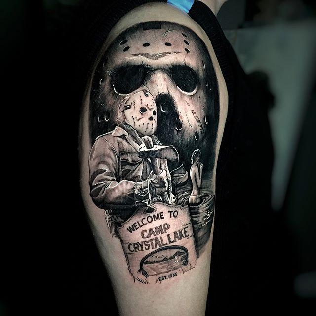 Matt Beirne at Stefano's Tattoo Studio in Ft. Lauderdale