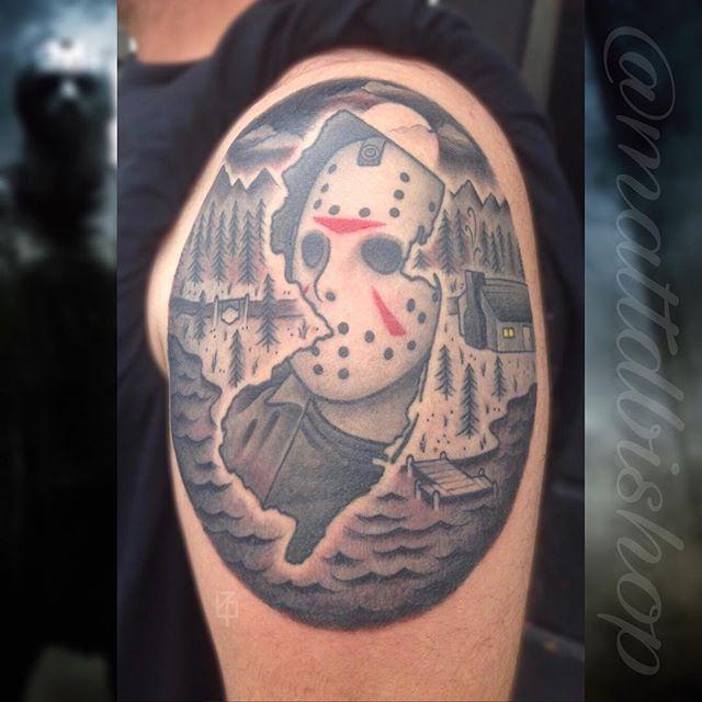Matt Bishop at Artistic Edge Tattoo