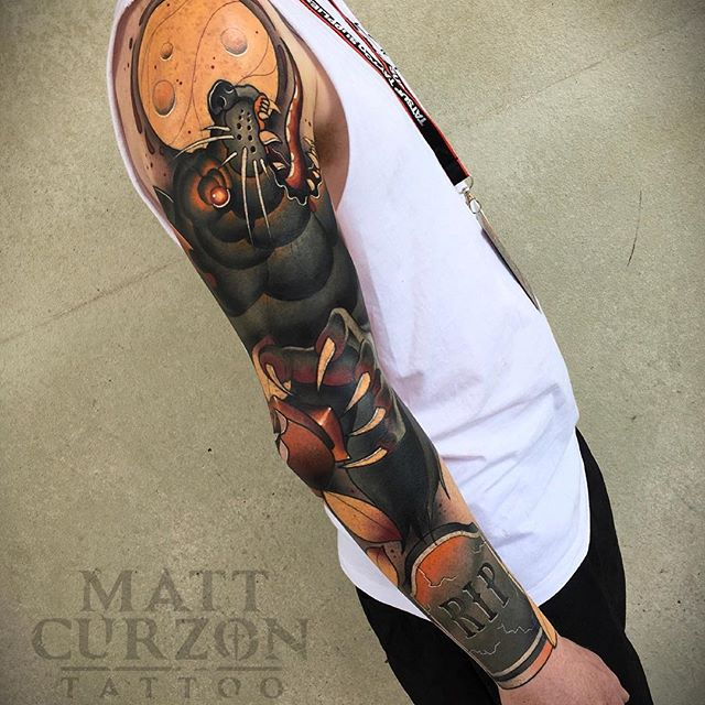 Matt Curzon Tattoo EMPIRE :: Melbourne, Australia
