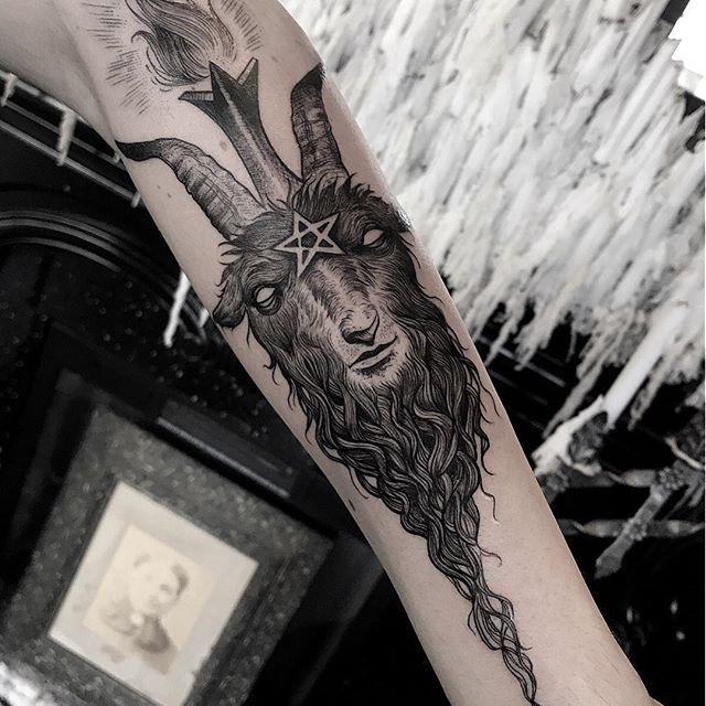 Matthew Murray, Black Veil Tattoo, Salem Massechusetts