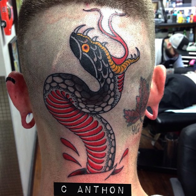 Chris Anthon at Grand River Tattoo Company in St. Elora Ontario