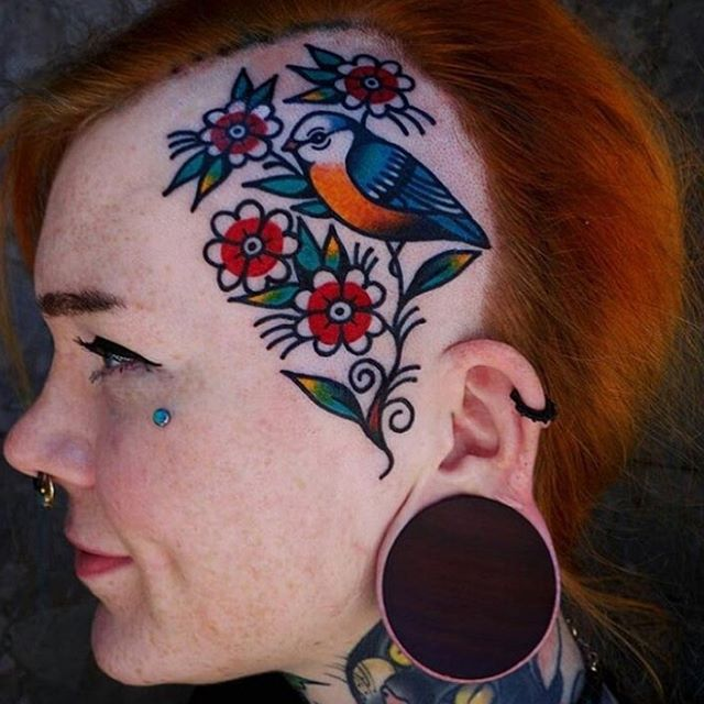 Martina at Pretty Electric Tattoo
