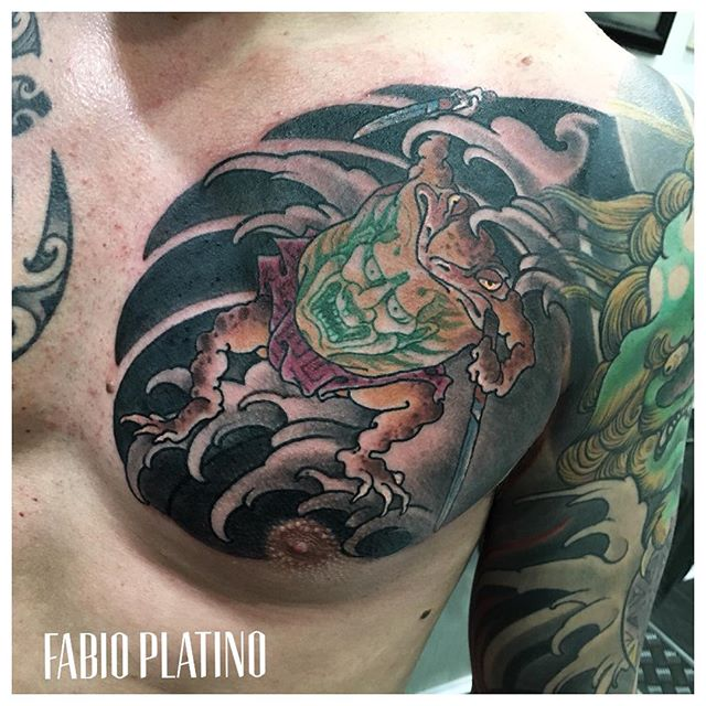 Fabio Platino Tattoo artist in the city of Naples