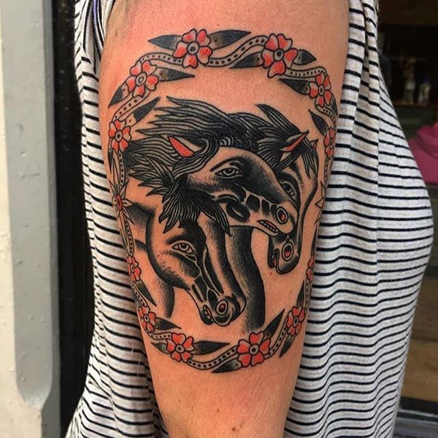 Rich Hadley at Inri Tattoo in Manchester