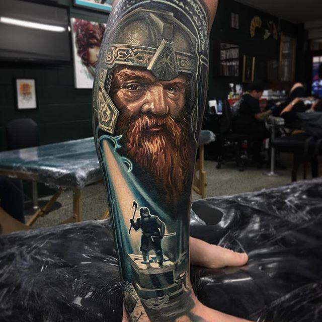 Ben Kaye Tattooer & part owner of Ship Shape tattoo, New Zealand