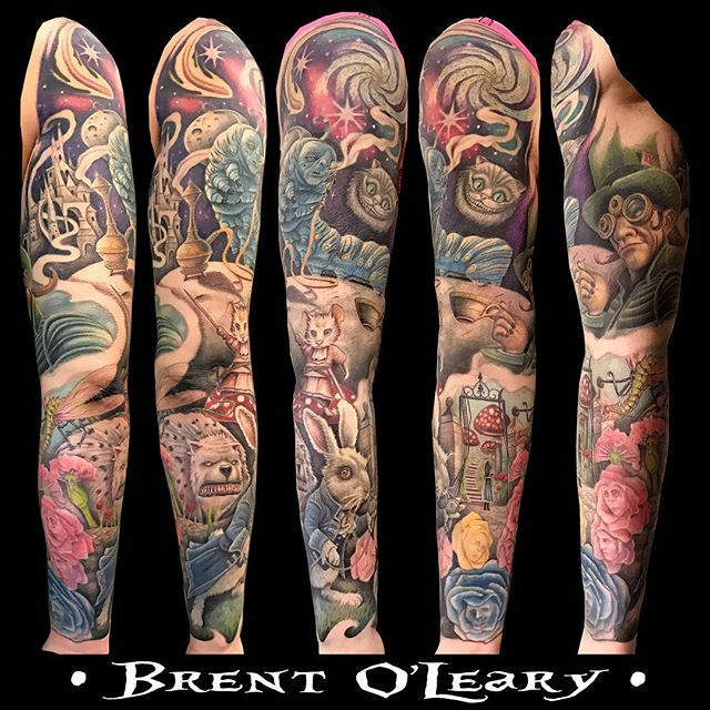 Brent O'Leary I am an artist, custom guitar maker, and musician. I'm currently working at Blue Collar Tattoo in Plainfield IL
