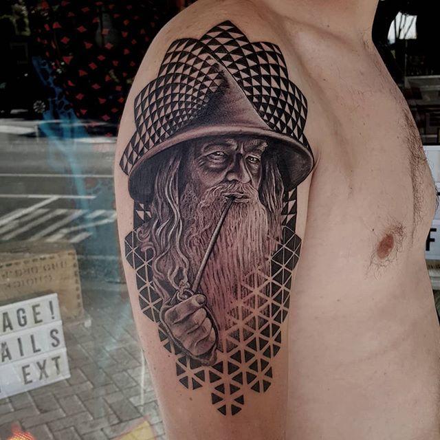 Izhar Rott Owner of Manifacto Amsterdam Tattoos