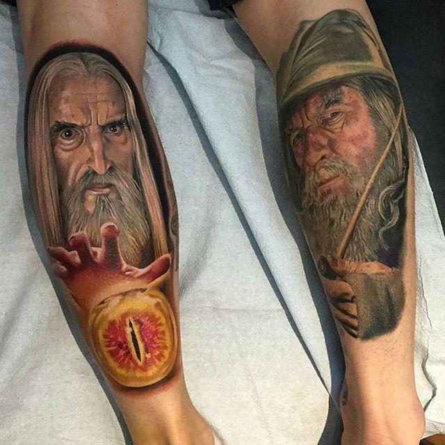 Tony Sklepic Pop culture inspired tattoos and artwork. EDMONTON ALBERTA